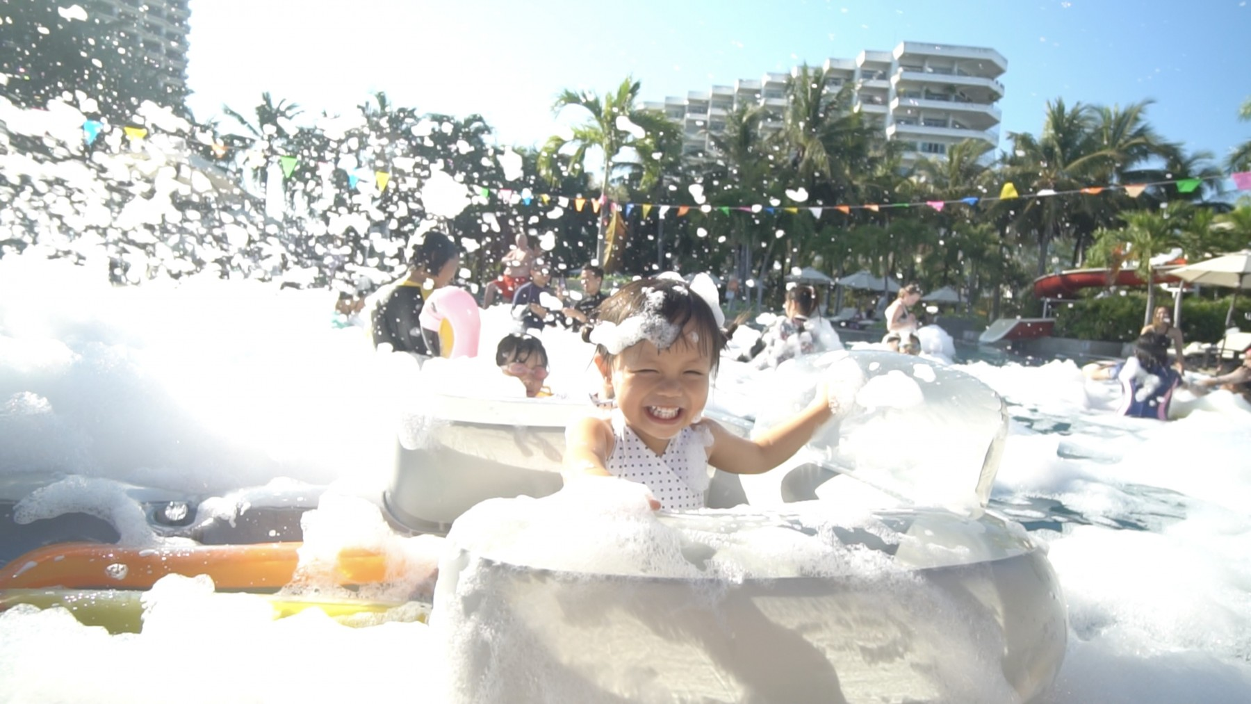 SAC - Foam Party